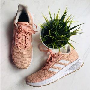 ADIDAS CLOUDFOAM Pink Athletic Shoes Women's 8 EUC